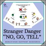 """Behaviour Support: Stranger Danger - """"NO, GO, TELL"""" RULE"""