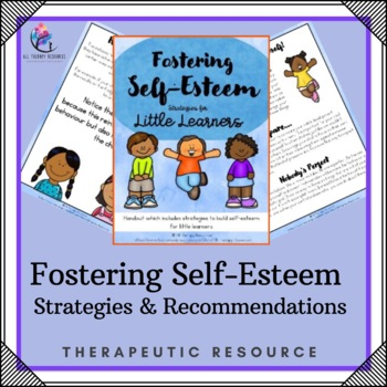 Behaviour Support: Strategies and Recommendations for Fostering Self-Esteem