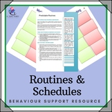 Behaviour Support: Strategy - Routines and Schedules