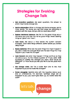 Behaviour Support: Supporting Individuals to Change