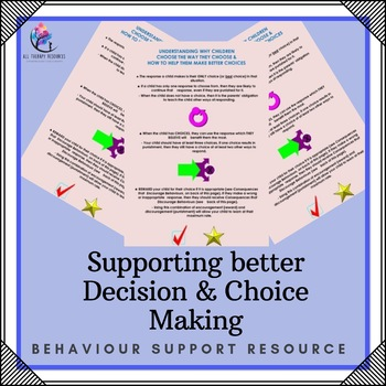 Behaviour Support: Supporting better Choices and Decision Making