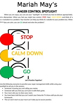 Behaviour Support: Traffic Lights to learn appropriate beh