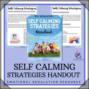 Behaviour Support: Using Self Calm Techniques