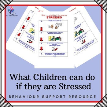 Behaviour Support: What Children can do if they are Stressed
