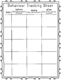 Behaviour Tracking Sheet