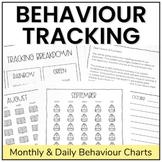 Monthly Behaviour Tracking Calendars   No Prep Classroom Management Strategy