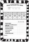 Behaviour chart