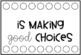 Behaviour hole punch cards {editable}