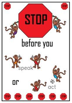 Behaviour management poster