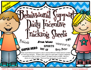 Behavioural Support Daily Incentive Tracking Sheets-AUSTRALIAN EDITION