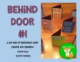 Behind Door #1: Coping Skills and Classroom Rewards