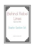 Behind Rebel Lines Chapter Question Set
