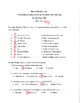 Behind Rebel Lines by Seymour Reit Final Test With Answer Key