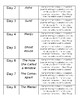 Behind the Beautiful Forevers Unit Plan / Reading Schedule (Editable)