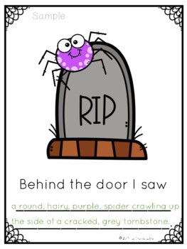 Behind the Door...Halloween Writing