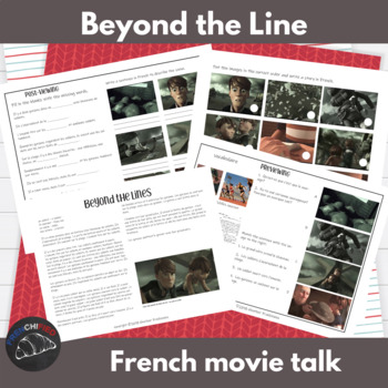 Beyond the Lines - a movie talk for French learners
