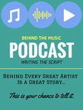 Behind the Music Podcast Script Writing
