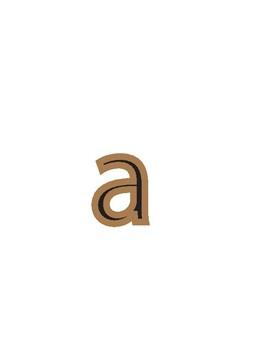 Beige Pro Lowercase Font
