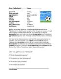 Beim Fußballspiel Lesung: At a Soccer Game German Reading