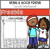 Being A Good Friend - Back to School Activity **FREEBIE**