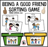 Being A Good Friend Sorting Game (Printable version)