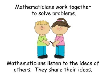 Being A Mathematician Social Story