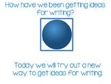 Being A Writer Unit 1 Week 3 Mimio Notebook