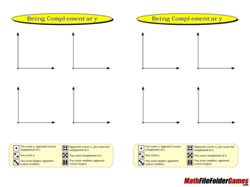 Being Complementary: Classify Pairs of Angles Game