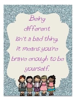 Being Different LDS Printable