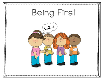 Being First Social Story