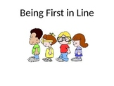 Being First in Line Social Story