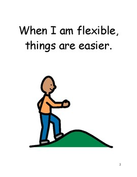 Being Flexible (Stubborn) Social Story