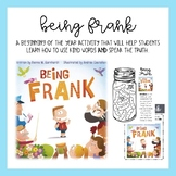 Being Frank: Beginning of Year Activity