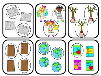 Being Green: Fraction Fun {A FREE Earth Day Themed Math Center}
