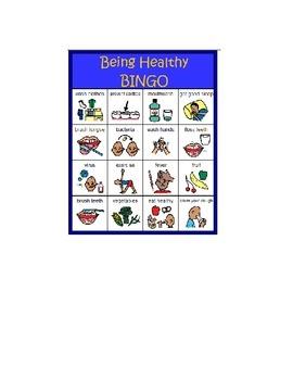 Being Healthy BINGO