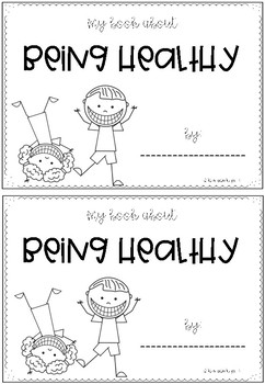 Being Healthy Mini Book