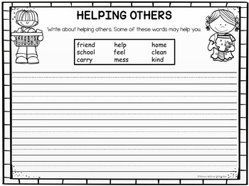 Character Education: Being Helpful  (K-3)