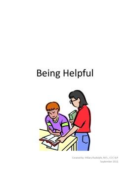 Being Helpful: Social Story