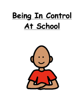 Being In Control Social Story