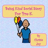 Being Kind Social Story for Pre-K