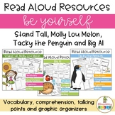 Be Yourself reading bundle with Molly Lou, Big Al and Tacky