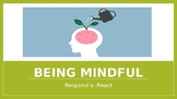 Being Mindful Mind Up Extension Lesson Mindfulness