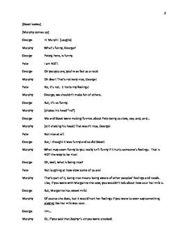 Being Nice-Puppet Script