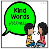 Being Nice To Others: A Social Story & Worksheet