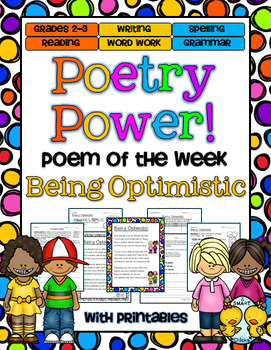 Poem of the Week: Being Optimistic Poetry Power!