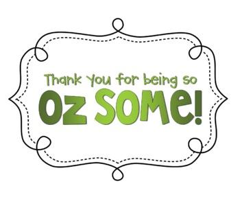 "Being ""Oz-Some"" - Rewards Pack {Rainbow Theme}"