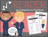 Being President of the USA {Reader} Social Studies Kinderg