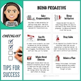 Being Proactive: Tips For Success