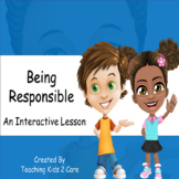 Being Responsible - Interactive PowerPoint / Whiteboard Le