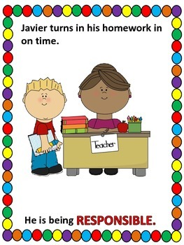 being responsible storybook school responsibility by fun teach
